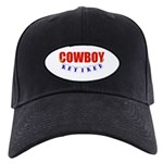 Retired Cowboy Black Cap