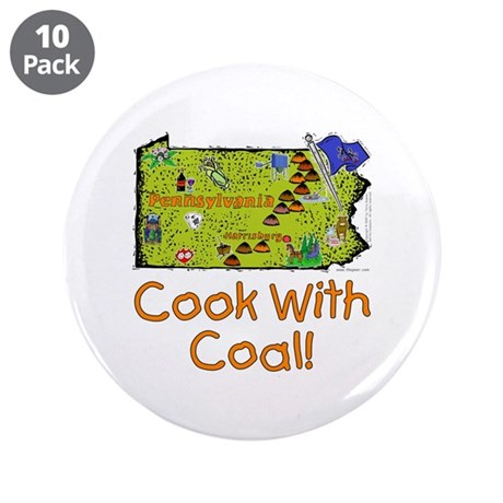 """PA-Coal! 3.5"""" Button (10 pack)"""