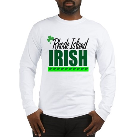 Rhode Island Irish Long Sleeve T-Shirt