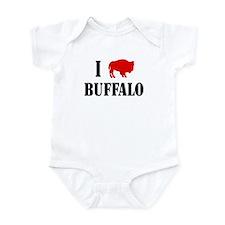 """I """"Buffalo"""" Buffalo Infant Bodysuit"""