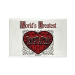 World's Best Temptation Rectangle Magnet (100 pack