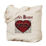 World's Best Temptation Tote Bag