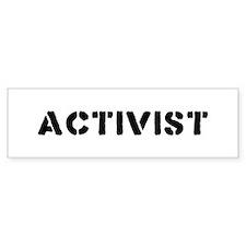 Activist Bumper Bumper Sticker
