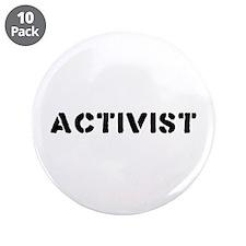 "Activist 3.5"" Button (10 pack)"