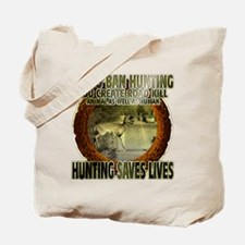 hunting rights Tote Bag