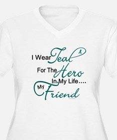 Teal For My Hero 1 (Friend OC) T-Shirt
