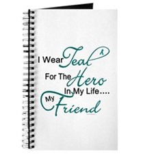 Teal For My Hero 1 (Friend OC) Journal