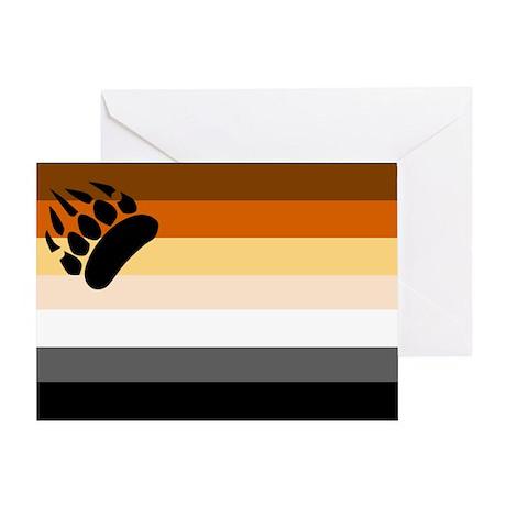 bear flag Greeting Card
