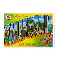 Greetings from California I Postcards (Package of