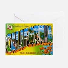Greetings from California I Greeting Card