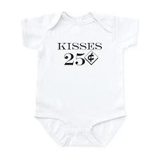 Kisses 25 Cents Infant/Baby Onesie Bodysuit