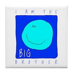 I Am The Big Brother Tile Coaster