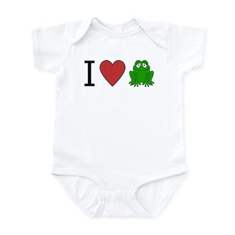 I Love Frog Infant Creeper