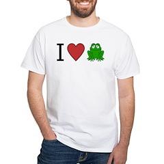 I Love Frog Shirt