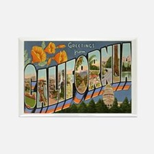 Greetings from California II Rectangle Magnet (10