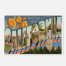 Greetings from California II Postcards (Package of