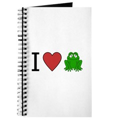 I Love Frog Journal