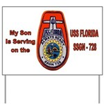 USS Florida Custom Yard Sign