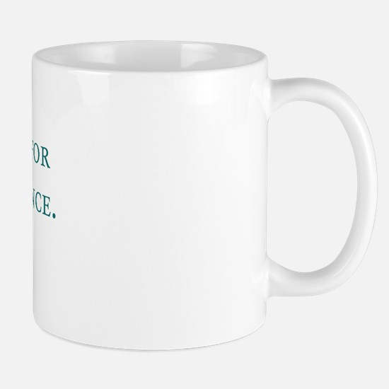God's Last Message Mug