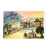 Connecticut souvenir Postcards