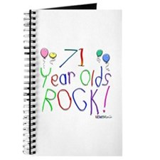 71 Year Olds Rock ! Journal
