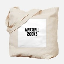 Marshall Rocks Tote Bag