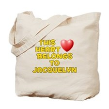 This Heart: Jacquelyn (D) Tote Bag