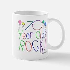 70 Year Olds Rock ! Mug