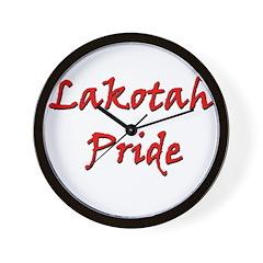 Lakotah Pride Wall Clock