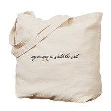 Unique Worth wait Tote Bag