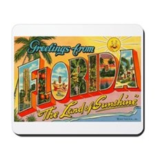 Greetings from Florida I Mousepad