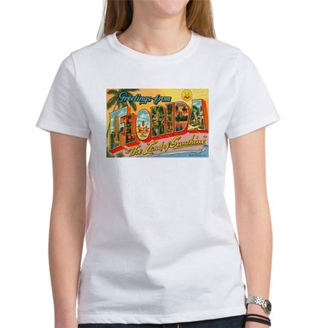 Greetings from Florida I Women's T-Shirt