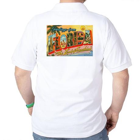 Greetings from Florida I Golf Shirt