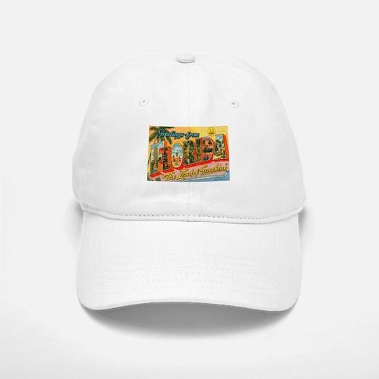 Greetings from Florida I Baseball Baseball Cap