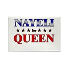 NAYELI for queen Rectangle Magnet