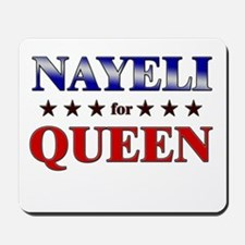 NAYELI for queen Mousepad