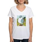 Gazzi Modena Pigeon Women's V-Neck T-Shirt