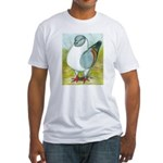 Gazzi Modena Pigeon Fitted T-Shirt
