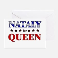 NATALY for queen Greeting Card
