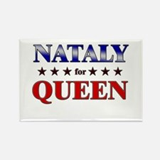 NATALY for queen Rectangle Magnet