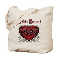 World's Best Tattoo Artist Tote Bag