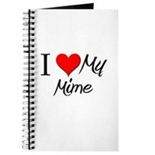 I Heart My Mime Journal