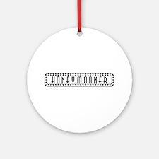 Honeymoon Ornament (Round)