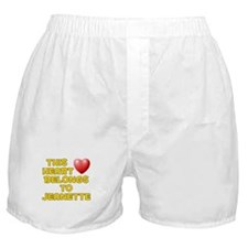 This Heart: Jeanette (D) Boxer Shorts