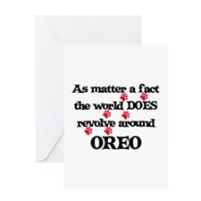 The World Revolves Around Ore Greeting Card