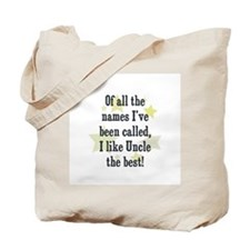 Of all the names I've been ca Tote Bag