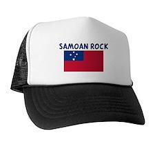 SAMOAN ROCK Trucker Hat