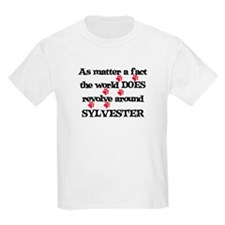 The World Revolves Around Syl T-Shirt
