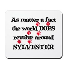 The World Revolves Around Syl Mousepad