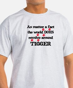 The World Revolves Around Tig T-Shirt